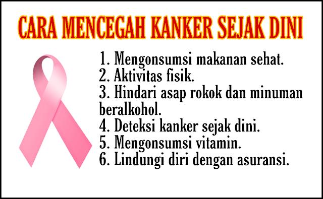 Cara Mencegah Penyakit Kanker Sejak Dini