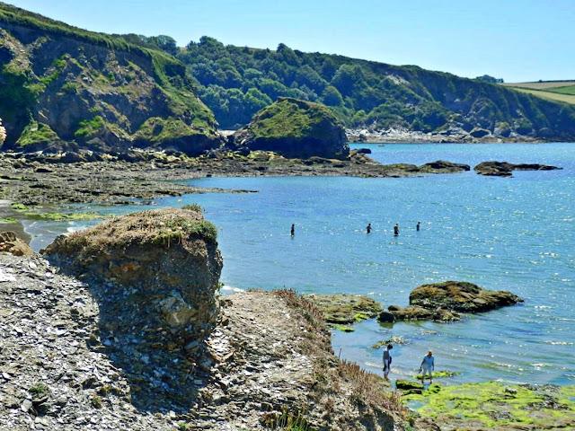 Rocks at Booley Beach, Cornwall