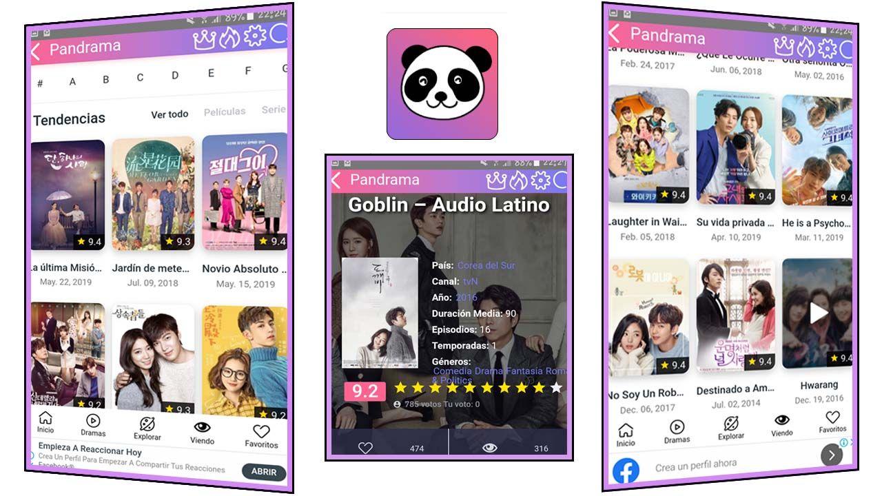 Pandrama apk para Android app doramas