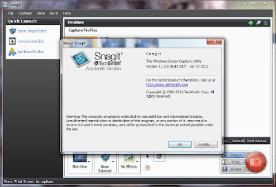 Techsmith Snagit 11.0.0 Build 207 Mediafire Download