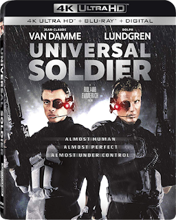 Lionsgate's 4K UHD of UNIVERSAL SOLDIER is Vault Master's Pick of the Week!