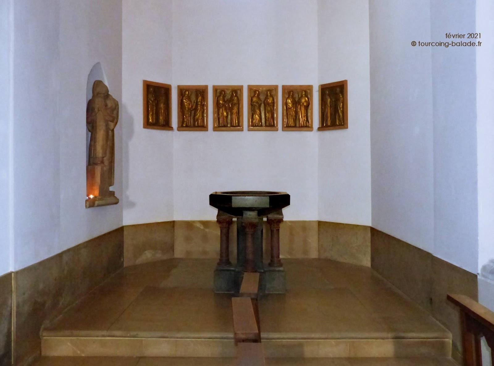 Fonts Baptismaux Notre-Dame de Consolation, Tourcoing