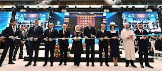 أردوغان يفتتح المكتبة الرئاسية التركية (صور)