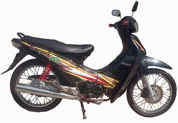 Planet Motocycle: Spesifikasi Honda Supra Fit