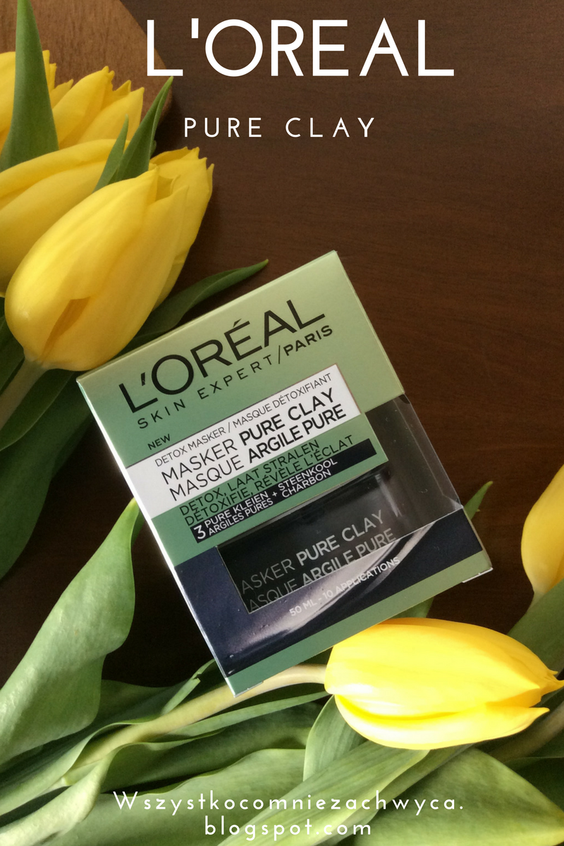 L'Oreal, Skin Expert, Maska czysta glinka detoksykująco-rozświetlająca