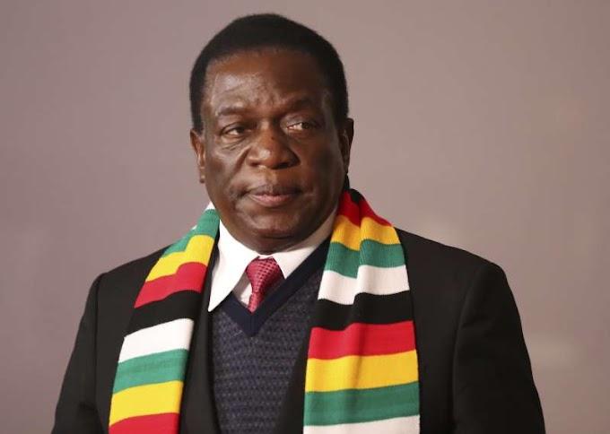 Zimbabwe's Mnangagwa wins 1st post-Mugabe election