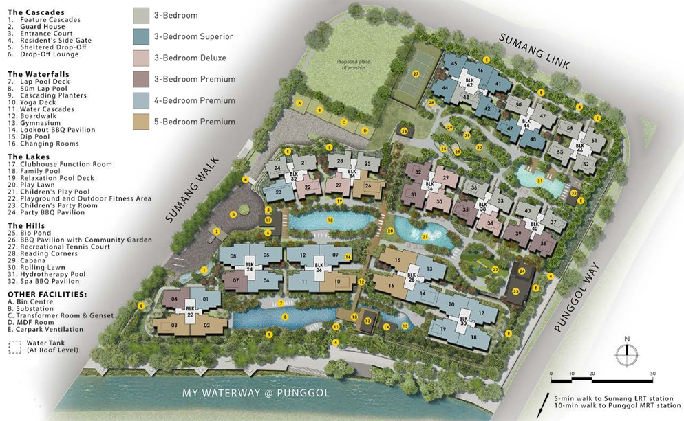 Piermont Grand EC - Site Plan