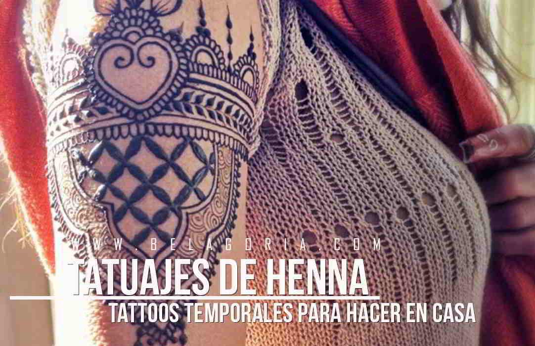 Brazo de una jovencita con tatuajes de henna