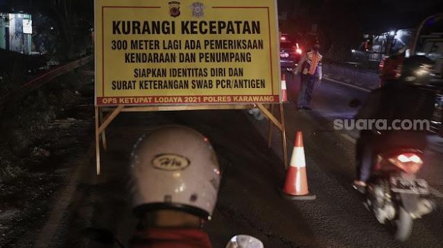 Rumah Warga Jakarta Pulang Mudik Akan Dikasih Tanda