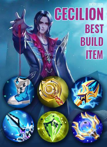 build cecilion mobile legend terbaik tersakit terbaru