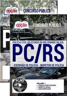 Apostila PC-RS 2018 Escrivão e Inspetor de Polícia