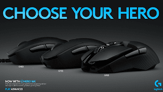 Logitech G Releases 3 Gaming Mice with 16K HERO Sensor