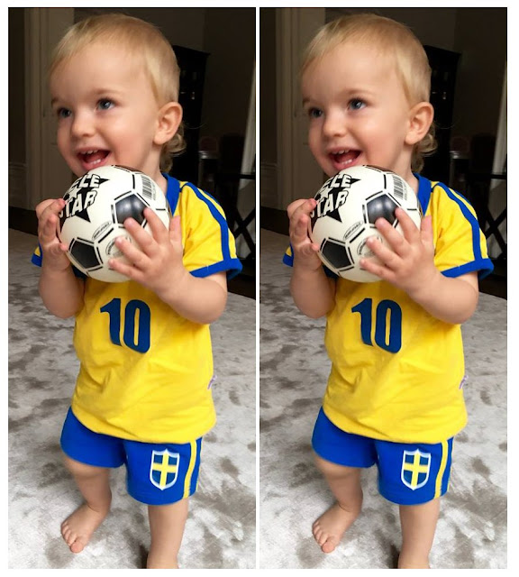Prince Nicolas published the message, Nicolas wishes the Swedish football team all the best for tonight's gold medal match! #GoSweden