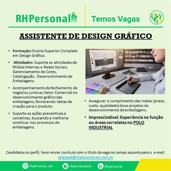 ASSISTENTE DE DESIGN GRÁFICO