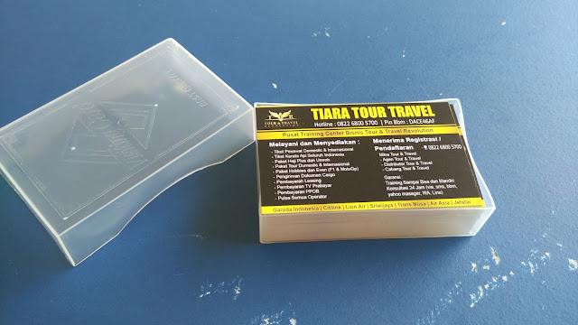 Kartu Nama Tour Travel