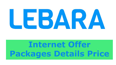 Lebara Internet offer KSA Daily, Weekly Monthly Packages