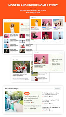 Jagomag -Magazine Blogger Template