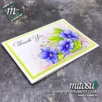 Stampin' Up! Blended Seasons Card Idea. Order craft supplies from Mitosu Crafts UK Online Shop