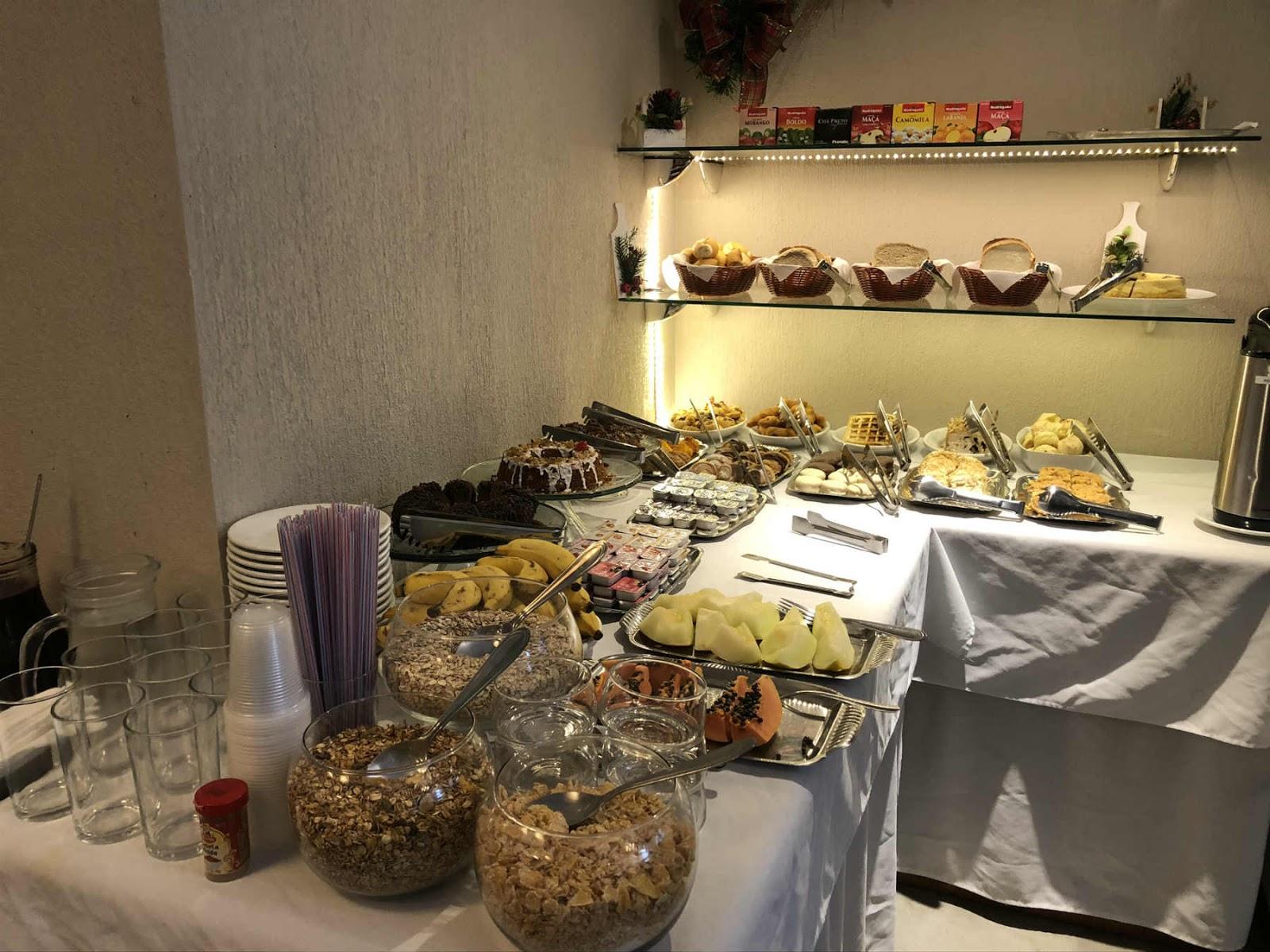 Café da manhã - Pousada Cammino Della Serra