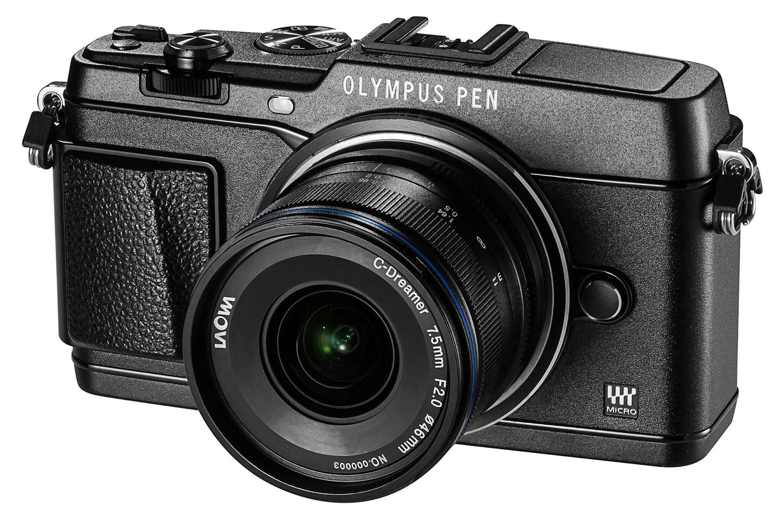 Laowa 7.5mm f/2.0 с фотоаппаратом Olympus