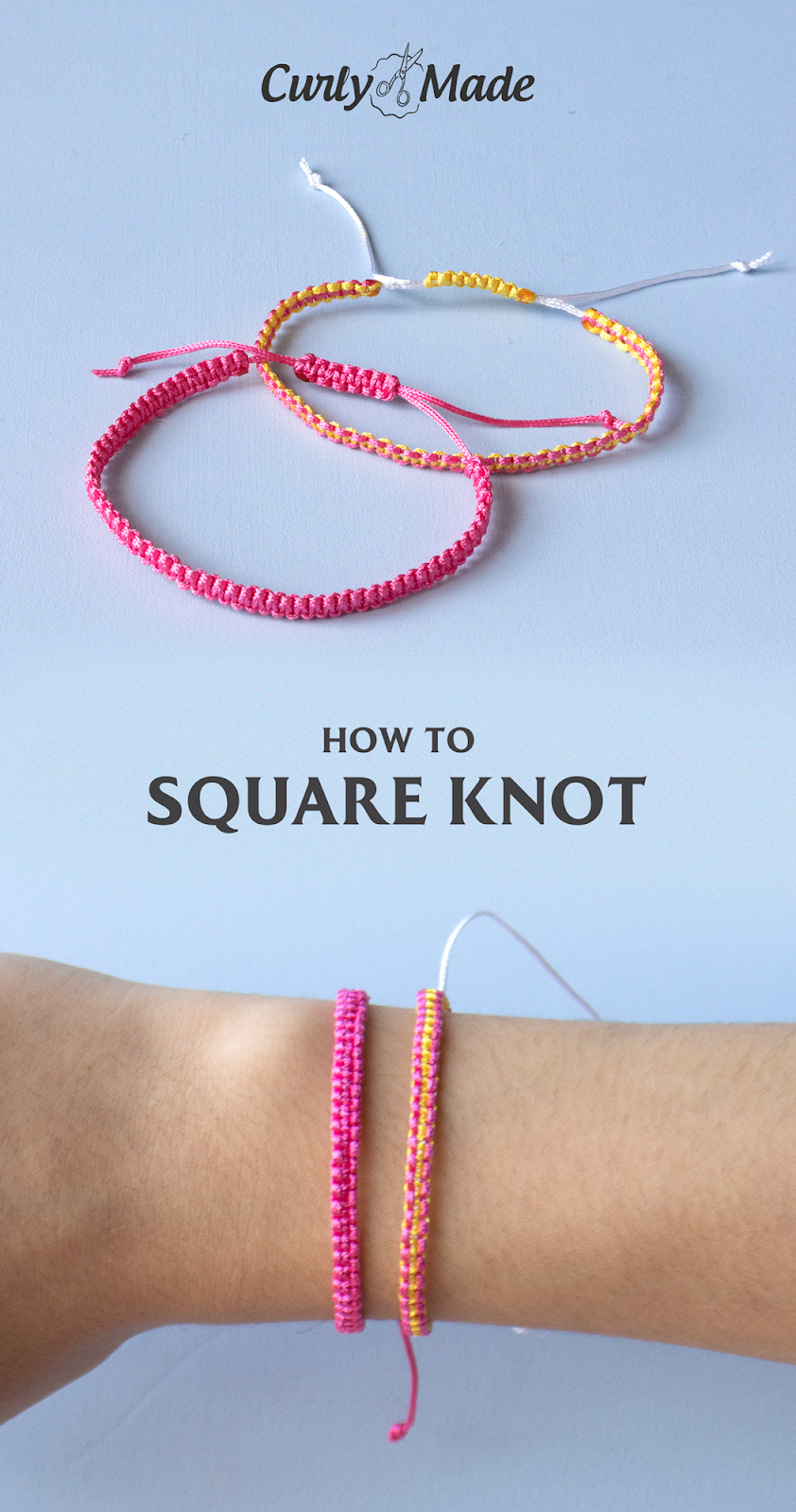 Learn How to Make one of the Easiest Styles of Friendship Bracelets with this Simple Step-by-Step Video Tutorial