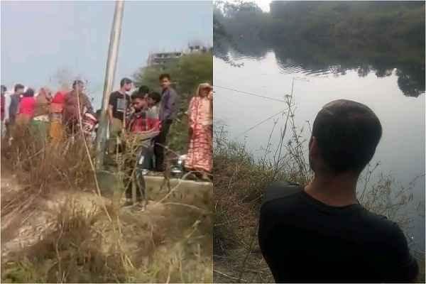 car-fallen-in-badoli-nahar-faridabad-with-4-person