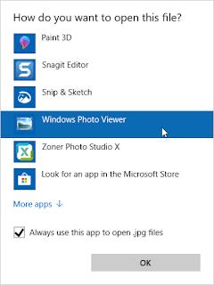 cara merestore windows photo viewer