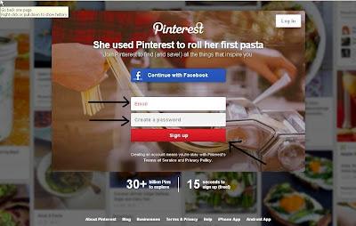 Akun Pinterest