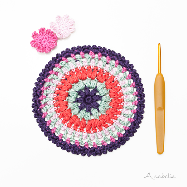 Crochet doily pattern, Anabelia Craft Design