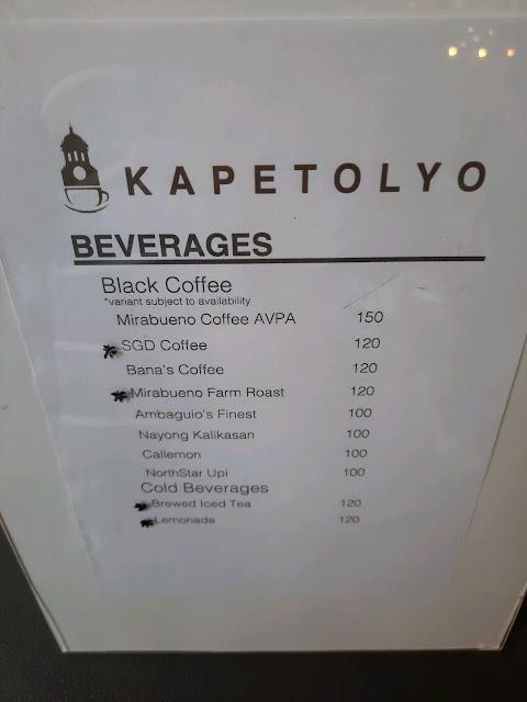 kapetolyo by sgd coffee menu  kapitolyo café manila city hall menu  kapitolyo manila menu  kapitolyo coffee shop manila menu  kapitolyo cafe manila city hall opening hours  kapitolyo, cafe menu  kapitolyo menu  kapetolyo cafe hours