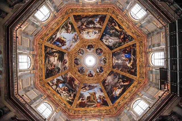 Teto da Capela de Medici em Florença