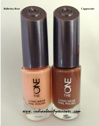 Indianbeautyreviewer Oriflame The One Long Wear Nail Polish Ballerina Rose Cappuccino Review Price In India