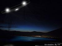 Motorist Spots UFO Triangle Above Hythe (UK)
