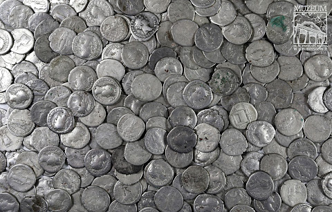 Largest ever haul of Roman coins in Poland discovered by farmer