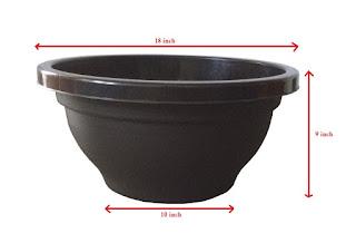 plastic bonsai pots ahmedabad