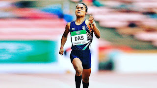 Sprinter Hima Das wins 3rd international gold within 2 weeks