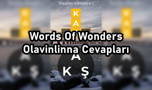Words Of Wonders Olavinlinna Cevaplari