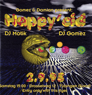 1995 party flyer