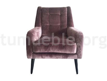 sillón contemporáneo julia