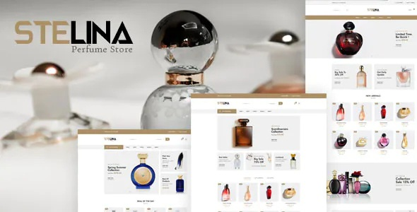 Best Perfume Store HTML Template