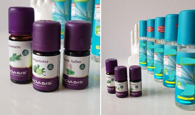 DIY Deospray mit Natron und ätherischen Ölen
