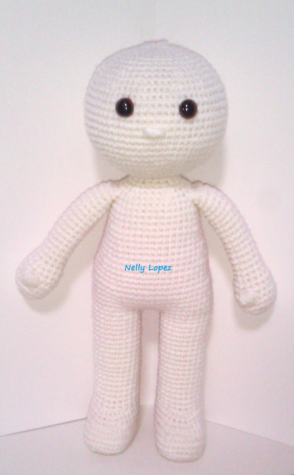 Maya Basic doll pattern