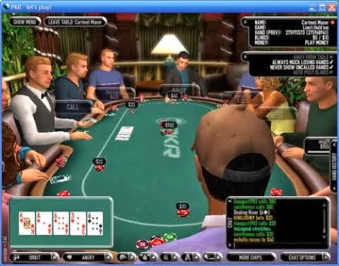 Holdem heads up blinds