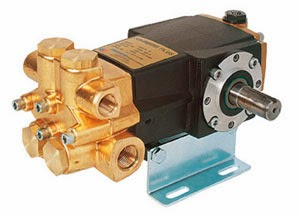 Duplex piston pump