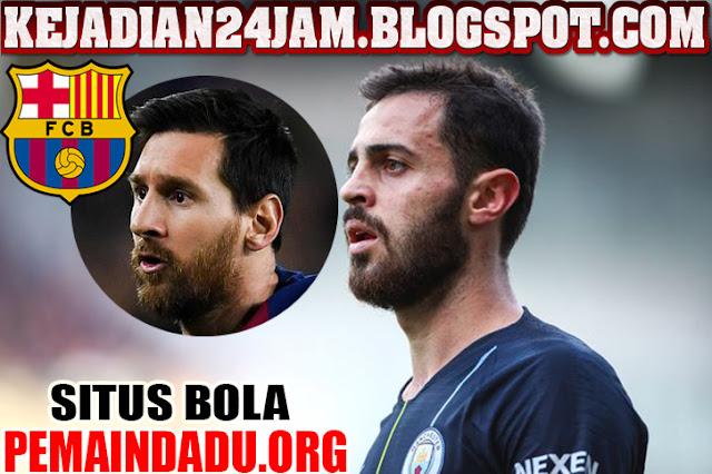 Benardo Silva Siap Hengkap dan Gabung Ke Barcelona?