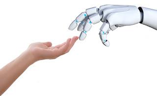 Robôs autônomos com mãos de humanos