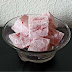 Delicias turcas (Turkish Delight, Lokum).