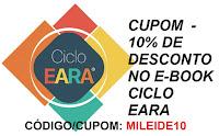 CUPOM 10% DE DESCONTO NO CICLO EARA E-BOOK FERNANDO MESQUITA LIVRO CICLO ESTUDOS concursos públicos estudos estudo