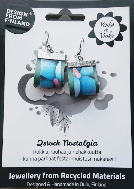 Venka&Vinka Jewellery from Recycled Materials from Oulu Finland