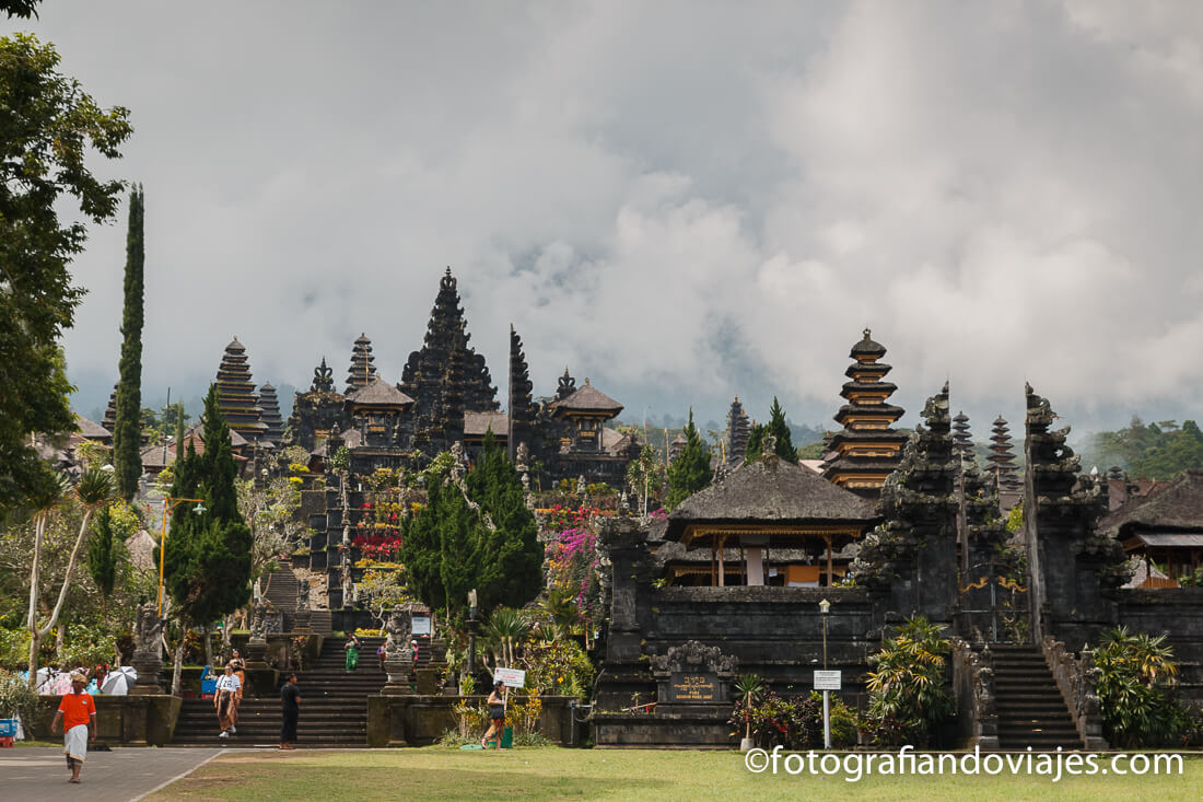 Pura Besakih o Templo madre en Bali